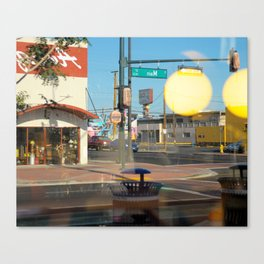 Intersection Reflection Canvas Print