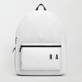 Radgie - Funny Newcastle Gerodie Backpack
