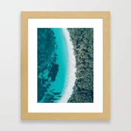 Murrays Beach, NSW Framed Art Print