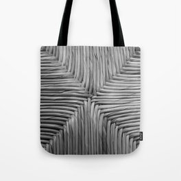 Wicker Texture Tote Bag
