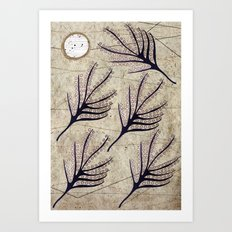 Seeds and Ring Art Print