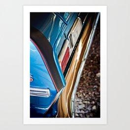 Chevy Nova SS No. 3 - Part of the Vintage Car Series Art Print