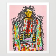 Business Casual Art Print