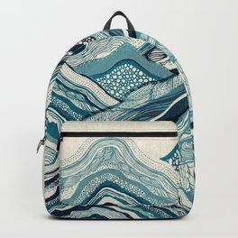 Blue Hike Backpack