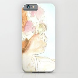 Flights She Fancied iPhone Case