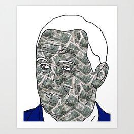 ORDINARY KIWI BLOKE PART I: JK $ NZ Art Print