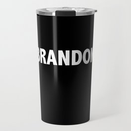 BRANDON / Vince T-Shirt Travel Mug