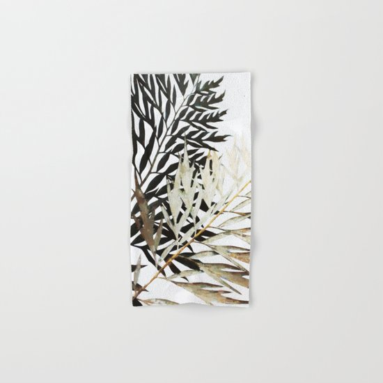 Three-Way Contrast #society6 #decor #buyart Hand & Bath Towel