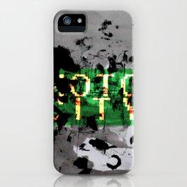 MOTO CITY iPhone Case