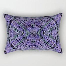 Zentangle Mandala Rectangular Pillow