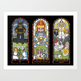 Windows of Aaarrgggh Art Print