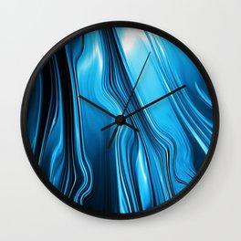 Streaming Deep Blues Wall Clock