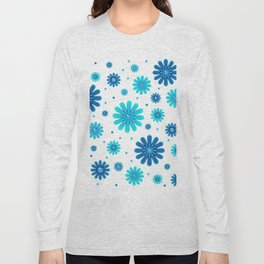 Flowers pattern 215 Long Sleeve T-shirt