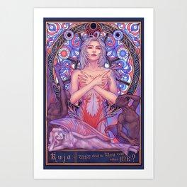 Kuja Art Print