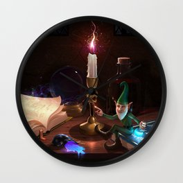 The Knowledge Thief Wall Clock