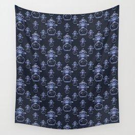 Lyon Head Ornate Motif Pattern Wall Tapestry
