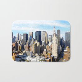 33rd Floor of E33rd & 3rd I Bath Mat