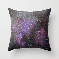 North America Nebula and Pelican Nebula Throw Pillow