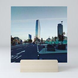 City. Mini Art Print