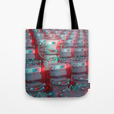 Robot Cinema Tote Bag
