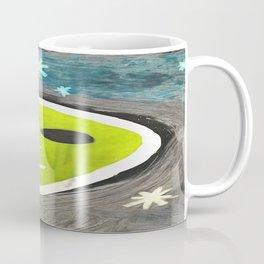 Martian In Paint Coffee Mug