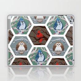 Fat Birds Pattern Laptop & iPad Skin