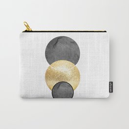 Scandi gold circle Carry-All Pouch