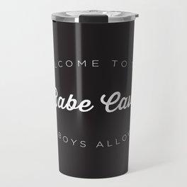The Babe Cave Travel Mug