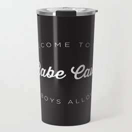 The Babe Cave Travel Mug
