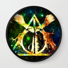Deathly Hellow Wall Clock
