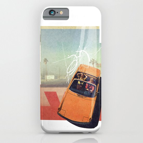 Getaway Car | Collage iPhone & iPod Case