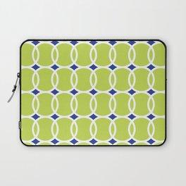 Tennis Ball Geometric Laptop Sleeve