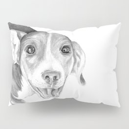 A Story To Tell :: A Beagle Puppy Pillow Sham