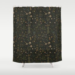 Old World Florals Shower Curtain