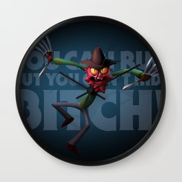 Scary Terry Wall Clock