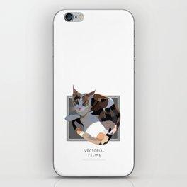 Vectorial Feline iPhone Skin