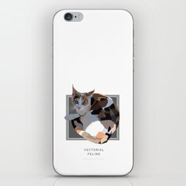 Vectorial Feline iPhone Skin
