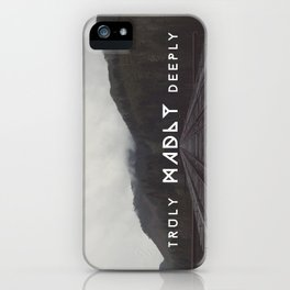 Truly Madly Deeply Series iPhone Case