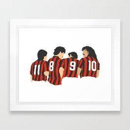 Vintage Milan Framed Art Print