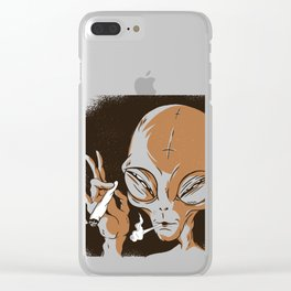 Smoking Clear iPhone Case