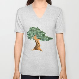 Beetle Bonsai Unisex V-Neck