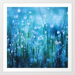 Crystals of Life Art Print