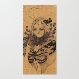 Lamproptera Meges Canvas Print