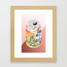 La Croix Framed Art Print
