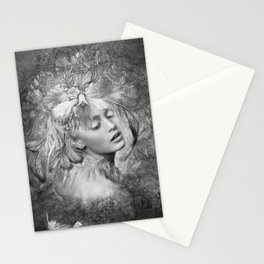 IMPRESSIONISTIC BEAUTY 02 Stationery Cards