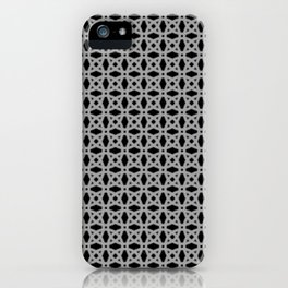 Silver Medals (on black, other colors too) iPhone Case