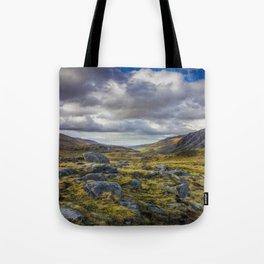 Nant Ffrancon Valley Tote Bag