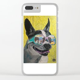 Frosty Face Friday with Gracie Gabriella at the Beach Clear iPhone Case