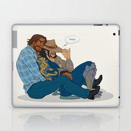 Get McCuddled Laptop & iPad Skin