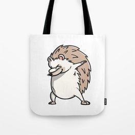 Funny Dabbing Hedgehog Pet Dab Dance Tote Bag